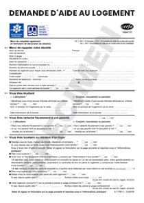 Les Document Pour La Caf Apl
