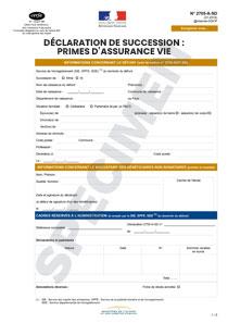 formulaire 2705 a