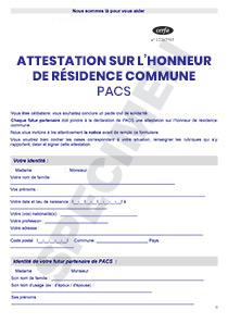 Attestation Cerfa Sur Lhonneur Cnrp France