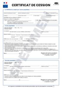certificat de cession cerfa n 15776. Black Bedroom Furniture Sets. Home Design Ideas