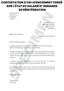 Contestation D Un Licenciement Fondé Sur L état Du Salarié